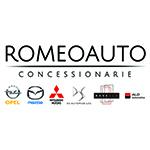 logo romeoauto mobility + brand